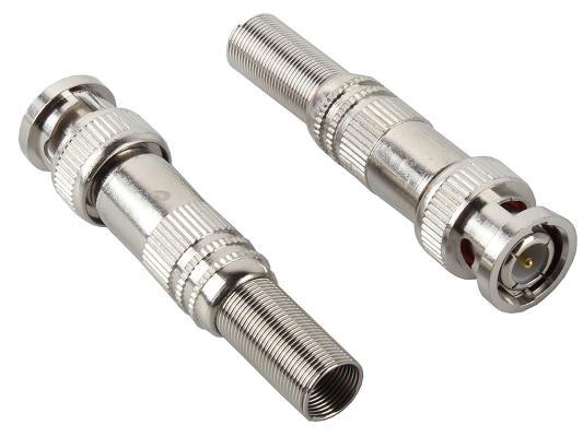 Разъем ORIENT ORIENT C667, разъем BNC для коаксиального кабеля RG-59, под винт, с пружиной