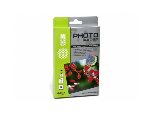 Картинка для Фотобумага Cactus CS-GA618050 10x15cm/180г/м2/50л. глянцевая для струйной печати
