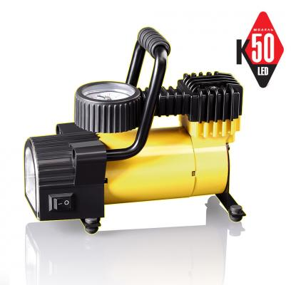 Компрессор автомобильный КАЧОК К50 LED автомобильный компрессор качок k70