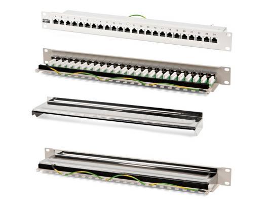 Патч-панель Hyperline PP-19-24-8P8C-C5e-SH-110D 19 24 порта RJ-45 категория 5e Dual