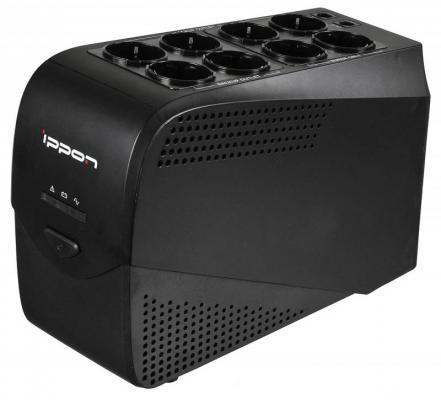 Источник бесперебойного питания Ippon Back Comfo Pro 600VA Черный (632582) источник бесперебойного питания ippon smart power pro ii euro 1600 960вт 1600ва черный