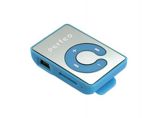 Цифровой аудио плеер Perfeo Music Clip Color, голубой (VI-M003 Blue) hifiman hm 700 16gb цифровой плеер