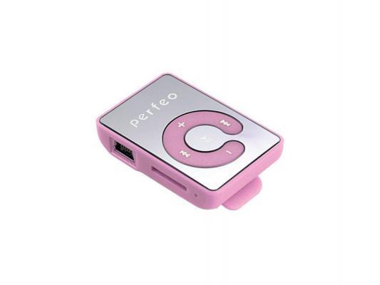 Цифровой аудио плеер Perfeo Music Clip Color, розовый (VI-M003 Pink) недорого