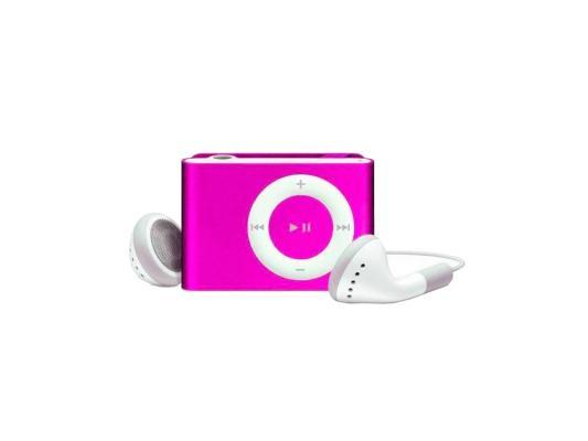 Цифровой аудио плеер Perfeo  Music Clip Titanium, розовый (VI-M001 Pink)