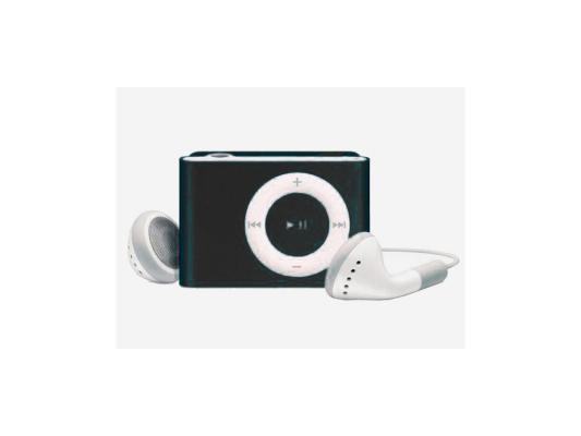 Цифровой аудио плеер Perfeo  Music Clip Titanium, чёрный (VI-M001 Black)