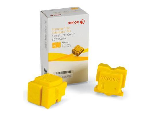 Набор твердочернильных брикетов Xerox 108R00938 для ColorQube 8570 2шт желтый 4400стр
