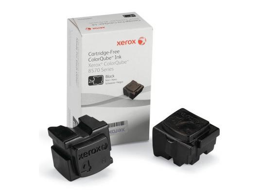 Набор твердочернильных брикетов Xerox 108R00939 для ColorQube 8570 2шт черный 4300стр