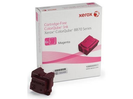 Набор твердочернильных брикетов Xerox 108R00959 для ColorQube 8870 6шт пурпурный 17300стр