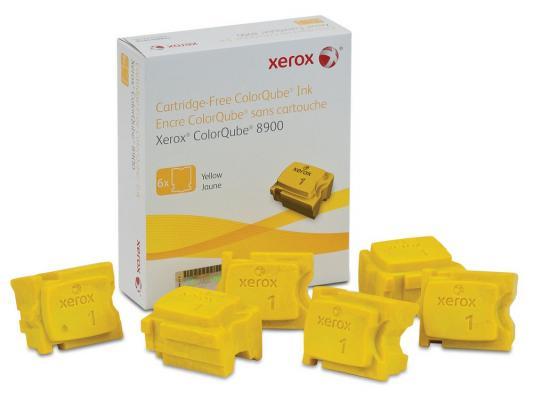 Набор твердочернильных брикетов Xerox 108R01024 для ColorQube 8900S 6шт желтый 16900стр