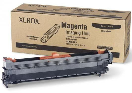 Фотобарабан Xerox 108R00648 для Phaser 7400 пурпурный 30000стр цена