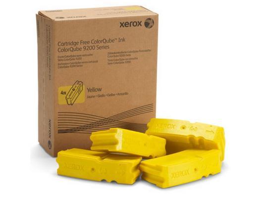 Набор твердочернильных брикетов Xerox 108R00839 для ColorQube 9201/02/03 / 9301/02/03 желтый 4шт по 9250стр