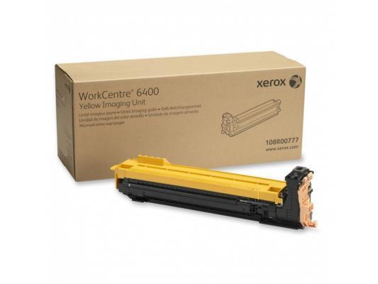 Фото - Картридж Xerox 108R00777 для Xerox WorkCentre 6400 30000стр Желтый картридж лазерный xerox 106r03695 желтый 4300стр для xerox p6510 wc6515