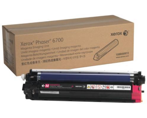 Фото - Фотобарабан Xerox 108R00972 для Phaser 6700 пурпурный 50000стр фотобарабан xerox 108r00974 для phaser 6700 черный 50000стр