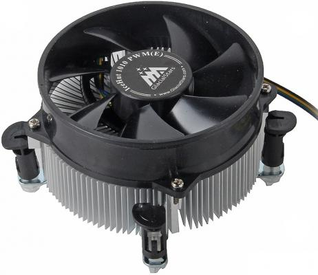 Кулер Glacialtech IceHut1010PWM Кулер Intel s1156,1155/95W/1000-2800 RPM/18-35dBa/втулка/ОЕМ/3.0W max кулер glacialtech icehut 1150pwm