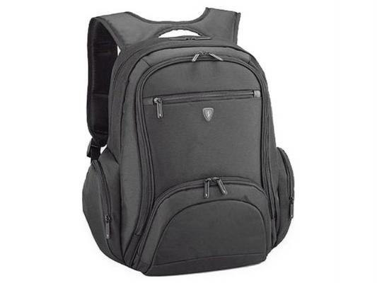 """Сумка-рюкзак для ноутбука Sumdex PON-354BK Impulse Notebook Backpack до 15.4"""" (нейлон/полиэстер, черный, 38.1 x 43.8 x 22.9 см)"""
