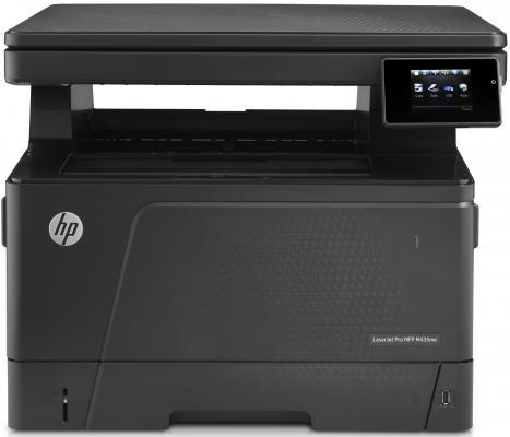 МФУ HP LaserJet Pro M435nw <A3E42A> принтер/сканер/копир, A3, 30стр/мин, 256Мб, USB, Ethernet, WiFi мфу hp hp laserjet pro m435nw a3e42a