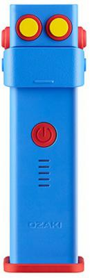Портативная батарея-аккумулятор Ozaki O!tool-Battery-D26. Тип батареи литий-ионный, емкость 2600 МаЧ. Цвет: синий