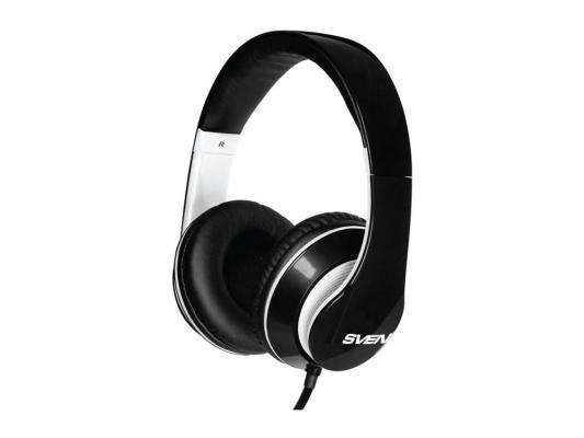 Купить Наушники с микрофоном SVEN AP-940MV наушники: 18 – 20000,микрофон: 30 – 16000, 1,2м черно- белые