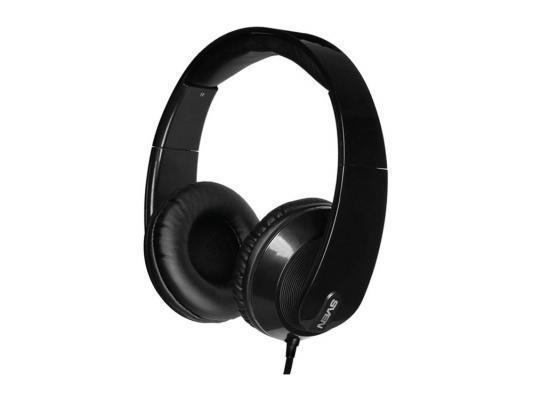 Наушники  с микрофоном SVEN  AP-945MV наушники: 18 – 20000 микрофон: 30 – 16000  1,2м  черные гарнитура sven ap 940mv наушники 18 – 20000 микрофон 30 – 16000 1 2м черно белые