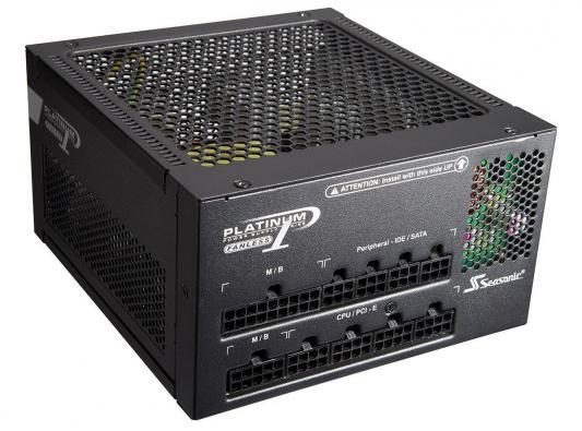 Блок питания ATX 400W Seasonic SS-400FL2 80+ platinum APFC 6*SATA Cab Manag I/O switch RTL блок питания atx 520 вт seasonic ss 520fl2