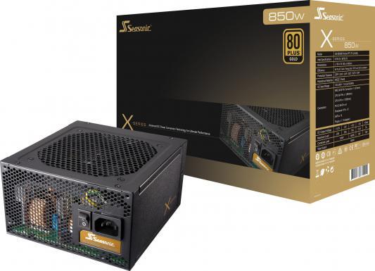 Блок питания ATX 850W Seasonic X-850 SS-850KM3 80+ gold APFC 10*SATA Cab Manag RTL
