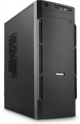 Корпус microATX Zalman ZM-T1 Plus Без БП чёрный вентилятор zalman zm f2 plus sf 92mm