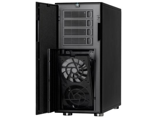 Корпус ATX Fractal Define XL R2 Titanium Без БП чёрный серебристый