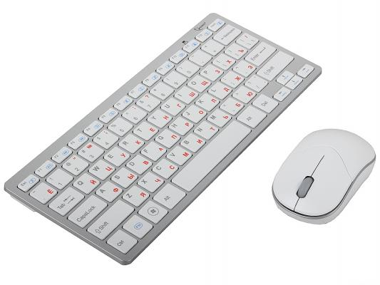Клавиатура + Мышь Gembird KBS-7001, ноутбучн. механизм клавиш 2.4ГГц/10м, мини-прием