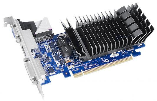 Видеокарта 1024Mb ASUS NVidia GeForce 210 Silent GDDR3 PCI-E DVI HDMI CRT HDCP Retail 210-SL-1GD3-BRK