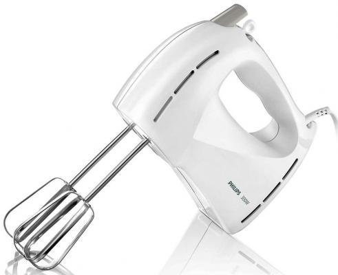 Миксер ручной Philips HR1459/00 300 Вт белый миксер ручной philips hr1560 20 400 вт черный