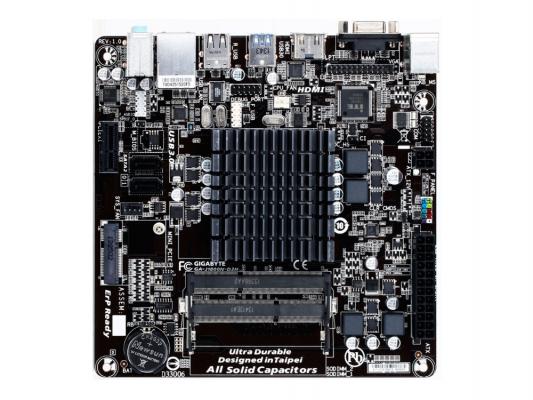 Материнская плата для ПК GigaByte GA-J1800N-D2H с процессором Intel J1800 2xDDR3 1xPCI-E 1x 2xSATA II mini-ITX Retail