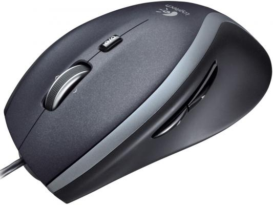 Мышь проводная Logitech M500 чёрный USB 910-003725/6 мышь проводная logitech m500