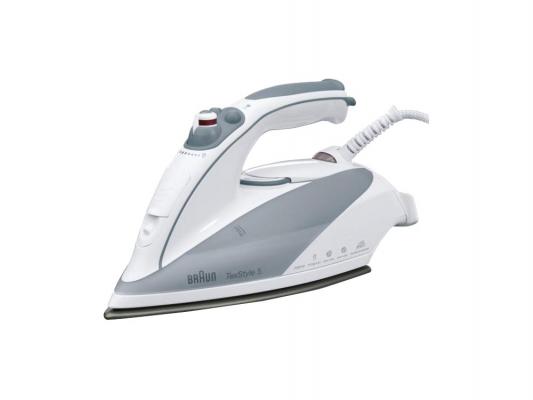 Утюг Braun TexStyle 535 Protector 2000Вт белый серый утюг braun texstyle 735 protector 2400вт белый серый