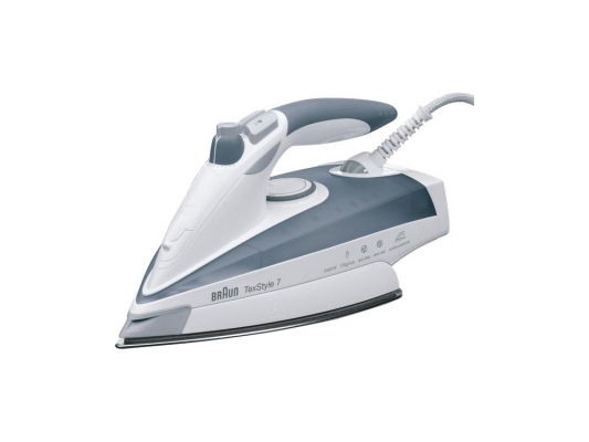 Утюг Braun TexStyle 785 Soft Protector 2400Вт белый серый утюг braun texstyle 725a 2400вт белый серый
