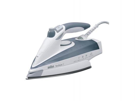 Утюг Braun TexStyle 775 2400Вт белый серый утюг braun ts775tp texstyle 7