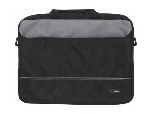 Сумка для ноутбука 15 Targus TBT238EU полиэстер нейлон черный серый TBT238EU-73 сумка для ноутбука 15 targus tar300 black