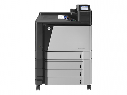 Принтер HP Color LaserJet Enterprise M855xh <A2W78A> A3, 46 стр/мин, дуплекс, 1Гб, HDD320Гб, USB, LAN (замена CP6015xh Q3934A) new paper delivery tray assembly output paper tray rm1 6903 000 for hp laserjet hp 1102 1106 p1102 p1102w p1102s printer