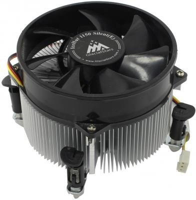 Вентилятор Glacialtech IceHut 1150 CU Silent Soc-1150/1155/1156/ 3pin 20dB Al+Cu 89W 440g клипсы OEM