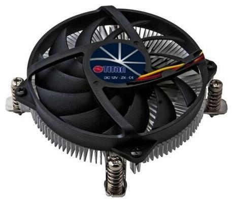 Вентилятор Titan DC-155A915Z/RPW Soc-1150/1155/1156/ 4pin 24-33dB Al 65W 245g винты low-profile RTL проц amd soc a