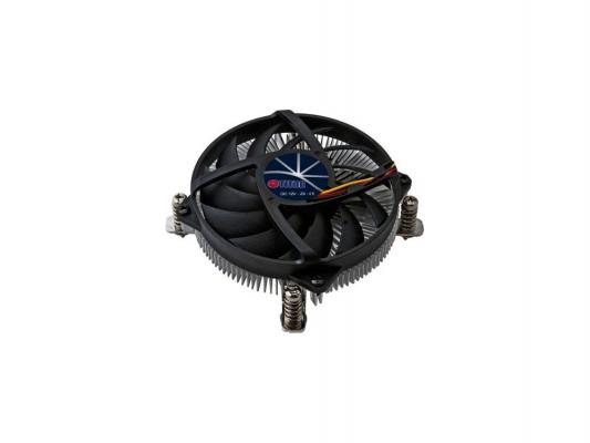 Вентилятор Titan DC-155A915Z/RPW Soc-1150/1155/1156/ 4pin 24-33dB Al 65W 245g винты low-profile RTL