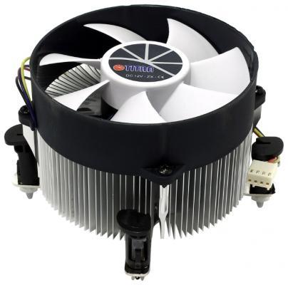 Вентилятор Titan TTC-NA02TZ/RPW1 Soc-1150/1155/1156 4pin 14-33dB Al 105W 427g клипсы Z-AXIS вентилятор glacialtech icehut 1150 silent soc 1150 1155 1156 3pin 20db al 82w 390g клипсы oem