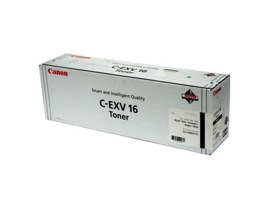 Тонер-картридж Canon C-EXV16Bk для CLC4040, CLC5151. Чёрный. 30000 страниц. картридж canon c exv16m purple для clc4040 clc5151 36000стр