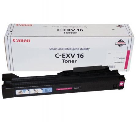 Тонер-картридж Canon C-EXV16M для CLC4040, CLC5151. Пурпурный. 36000 страниц. цена