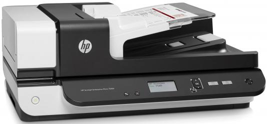 Сканер HP ScanJet Enterprise Flow 7500 <L2725B> планшетный, А4, ADF 100 листов, 50 стр/мин, 600dpi, 24bit, USB (замена L2725A) 1 x new control panel pca ass y adf ce862 60101 for hp 1415fn 1415nw