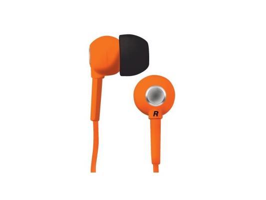 Наушники вкладыши BBK EP-1200S оранжевый 1.2м цена и фото