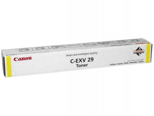 Тонер-картридж Canon C-EXV29Y для IRC5030,iRC5035, iRC5045, iRC5051. Жёлтый. 27 000 страниц. irc5035 cylinder copier parts for canon irc 5030 5035 5045 5051 opc drum irc5030 irc5035 irc5045 irc5051 c5030 c5035 c5045 c5051