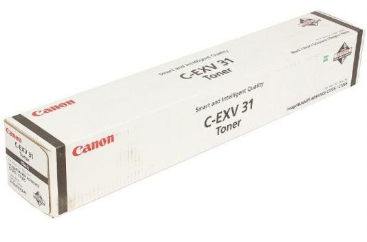Тонер-картридж Canon C-EXV31Bk для IRC7055/ C7065. Чёрный. 80000 страниц. тонер canon c exv31m для irc7055 c7065 пурпурный 52000 страниц