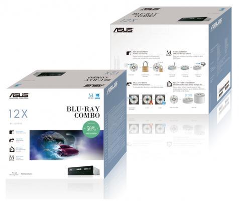 Привод для ПК Blu-ray ASUS BC-12D2HT SATA черный Retail blu ray проигрыватель app bluetooth v3 0 a2dp ipx5 c6