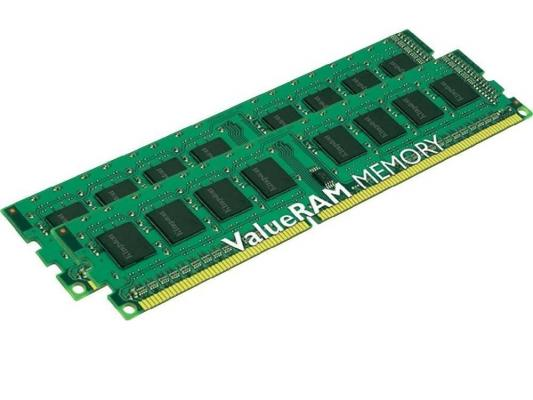 Оперативная память 16Gb (2x8Gb) PC3-12800 1600MHz DDR3 DIMM Kingston KVR16N11K2/16 Retail оперативная память 16gb pc3 12800 1600mhz ddr3 dimm ecc kingston cl11 kvr16lr11d4 16 retail