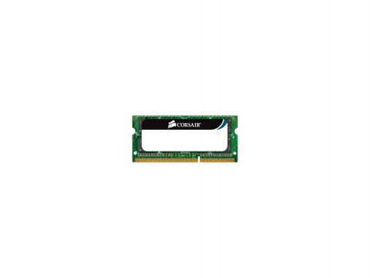 Оперативная память для ноутбука 4Gb (1x4Gb) PC3-10600 1333MHz DDR3 SO-DIMM CL9 Corsair CL9 CMSO4GX3M1C1333C9 dimm 4gb ddr3 pc10660 1333mhz corsair cmv4gx3m1a1333c9
